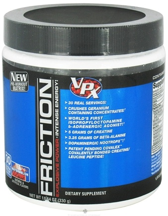 DROPPED: VPX - Friction Pre-Workout Matrix - 30 Servings Watermelon - 11.64 oz. CLEARANCE PRICED