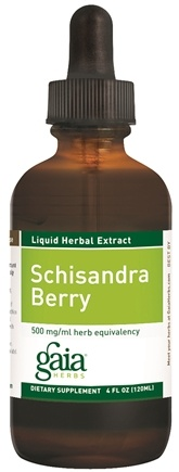 DROPPED: Gaia Herbs - Schisandra Berry - 4 oz.