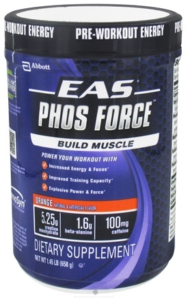 DROPPED: EAS - PhosForce Orange - 1.45 lbs.