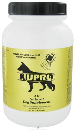 DROPPED: Nupro - All Natural Dog Supplement - 5 lbs.