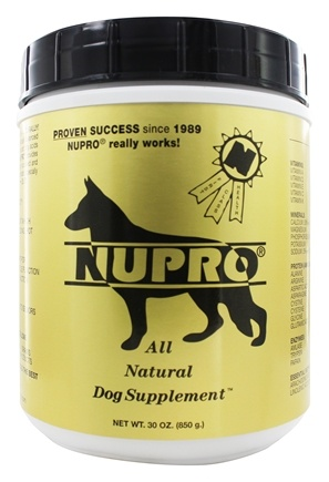 Nupro - All Natural Dog Supplement - 30 oz.