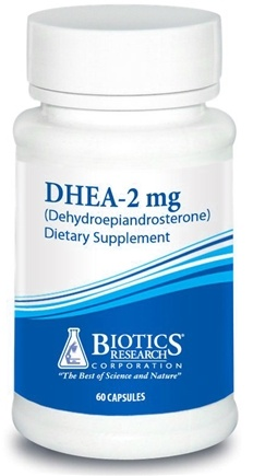 DROPPED: Biotics Research - DHEA 2 mg. - 60 Capsules