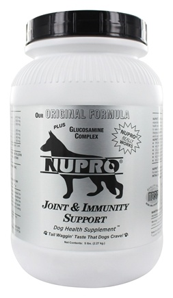 Nupro - Joint & Immunity Support Dog Health Supplement - 5 lbs.