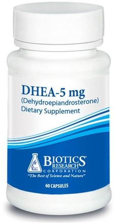 DROPPED: Biotics Research - DHEA 5 mg. - 60 Capsules