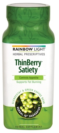 DROPPED: Rainbow Light - ThinBerry Satiety Appetite Control with Slendesta & Green Coffee Bean - 60 Vegetarian Capsules