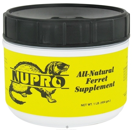 DROPPED: Nupro - All Natural Ferret Supplement - 1 lb.