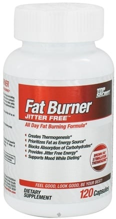 DROPPED: Top Secret Nutrition - Fat Burner Jitter Free - 120 Capsules