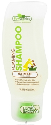 DROPPED: PL360 - Foaming Shampoo Oatmeal Formula Vanilla Scent - 10.8 oz. CLEARANCE PRICED