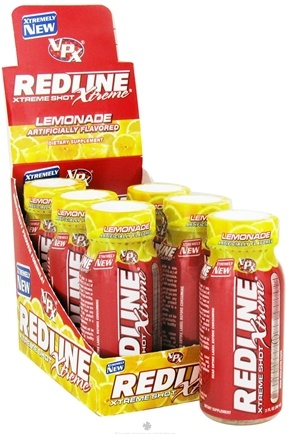 DROPPED: VPX - Redline Xtreme Energy Shot Lemonade - 3 oz. CLEARANCE PRICED