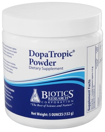 DROPPED: Biotics Research - DopaTropic Powder - 4.7 oz.