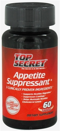 DROPPED: Top Secret Nutrition - Appetite Suppressant with Caralluma Fimbriata - 90 Tablets CLEARANCE PRICED
