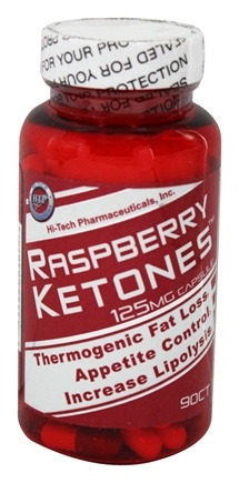 Hi-Tech Pharmaceuticals - Raspberry Ketones 125 mg. - 90 Capsules