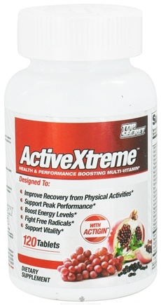 DROPPED: Top Secret Nutrition - ActiveXtreme - 120 Tablets CLEARANCE PRICED