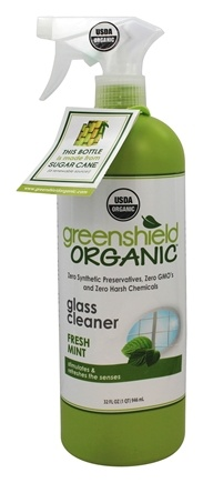 Green Shield Organic - Glass Cleaner Fresh Mint - 32 oz. formerly Magnolia and Poppy Scent