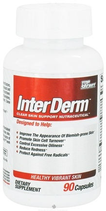 DROPPED: Top Secret Nutrition - InterDerm - 90 Capsules