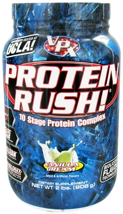 DROPPED: VPX - Protein Rush 10 Stage Protein Complex Vanilla Dream - 2 lbs. CLEARANCE PRICED
