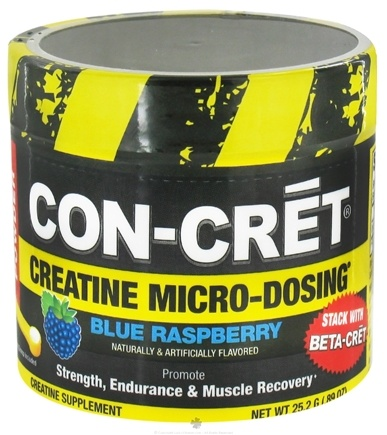 DROPPED: Promera Health - Con-Cret Creatine Micro-Dose Blue Raspberry - 24 Grams CLEARANCE PRICED