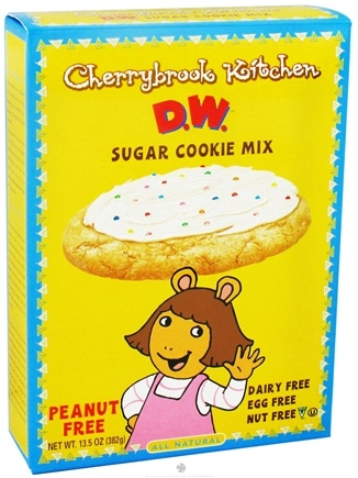 DROPPED: Cherrybrook Kitchen - D.W. Sugar Cookie Mix - 13.5 oz. CLEARANCE PRICED