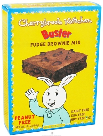 DROPPED: Cherrybrook Kitchen - Buster Fudge Brownie Mix - 16 oz. CLEARANCE PRICED