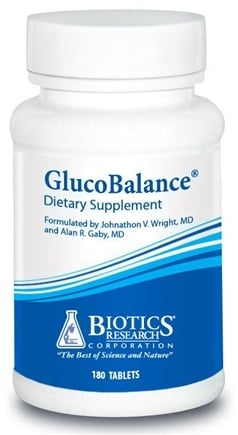 DROPPED: Biotics Research - GlucoBalance - 180 Capsules CLEARANCE PRICED