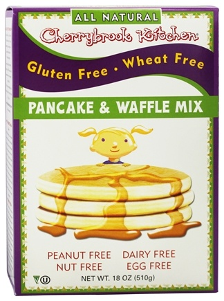 Cherrybrook Kitchen - Gluten Free Dreams Pancake & Waffle Mix - 18 oz.