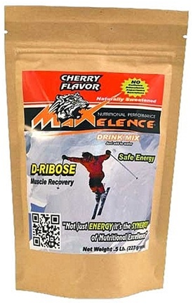 DROPPED: Maxelence - D-Ribose Energy Drink Mix Cherry - 0.5 lbs. CLEARANCE PRICED