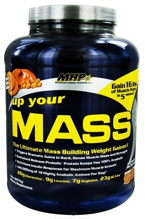 DROPPED: MHP - Up Your Mass Peanut Butter Cookie - 5 lbs. CLEARANCE PRICED