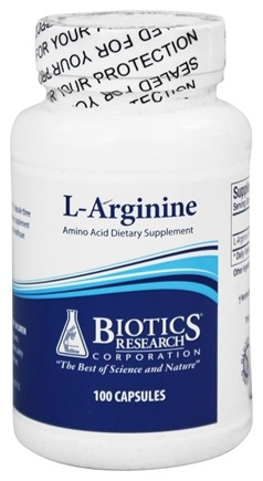 DROPPED: Biotics Research - L-Arginine 700 mg. - 100 Capsules