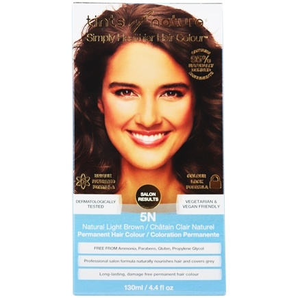 Tints Of Nature - Conditioning Permanent Hair Color 5N Natural Light Brown - 4.4 oz. LUCKY PRICE