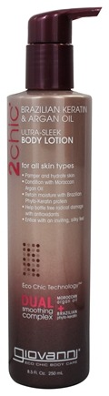 Giovanni - 2Chic Brazilian Keratin & Argan Oil Ultra-Sleek Body Lotion - 8.5 oz.