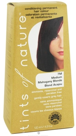 DROPPED: Tints Of Nature - Conditioning Permanent Hair Color 7M Medium Mahogany Blonde - 4.2 oz.