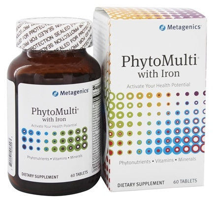 Metagenics - PhytoMulti with Iron - 60 Tablets