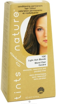 DROPPED: Tints Of Nature - Conditioning Permanent Hair Color 10C Light Ash Blonde - 4.2 oz.