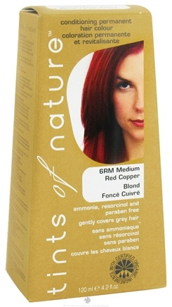 DROPPED: Tints Of Nature - Conditioning Permanent Hair Color 6RM Medium Red Copper - 4.2 oz.