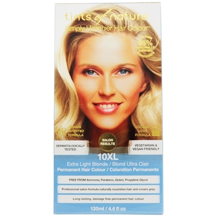 Tints Of Nature - Conditioning Permanent Hair Color 10XL Extra Light Blonde - 4.4 oz.