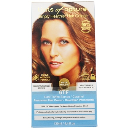 Tints Of Nature - Conditioning Permanent Hair Color 6TF Dark Toffee Blonde - 4.4 oz.