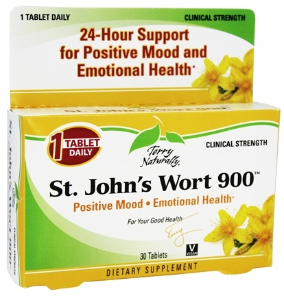 EuroPharma - Terry Naturally St. John's Wort 900 mg. - 30 Tablets