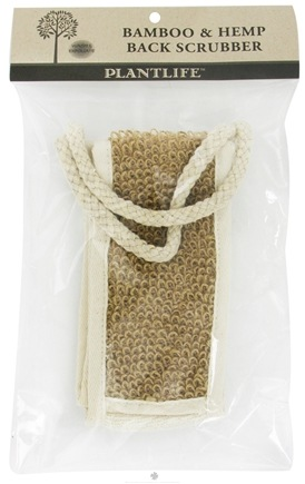 DROPPED: Plantlife Natural Body Care - Bamboo & Hemp Back Scrubber