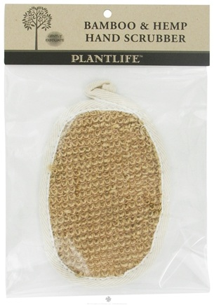 DROPPED: Plantlife Natural Body Care - Bamboo & Hemp Hand Scrubber - CLEARANCE PRICED