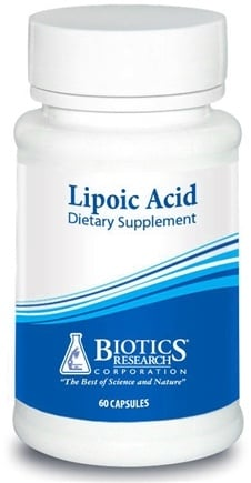 DROPPED: Biotics Research - Lipoic Acid - 60 Capsules DAILY DEAL