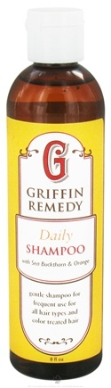 DROPPED: Griffin Remedy - Daily Shampoo with Sea Buckthorn and Orange - 8 oz.