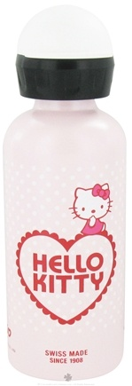 DROPPED: Sigg - Aluminum Water Bottle For Kids Hello Kitty Valentine - 0.4 Liter(s) CLEARANCE PRICED