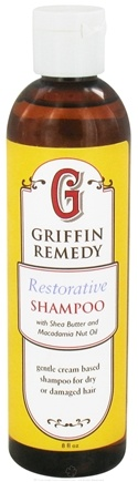 DROPPED: Griffin Remedy - Restorative Shampoo with Shea Butter and Macadamia Nut Oil - 8 oz.