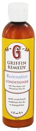 DROPPED: Griffin Remedy - Restorative Conditioner with Shea Butter and Macadamia Nut Oil - 8 oz.