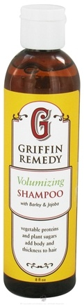 DROPPED: Griffin Remedy - Volumizing Shampoo with Barley and Jojoba - 8 oz.