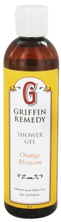 DROPPED: Griffin Remedy - Shower Gel Orange Blossom - 8 oz.