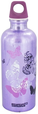 DROPPED: Sigg - Aluminum Water Bottle Butterflies - 0.6 Liter(s) CLEARANCE PRICED