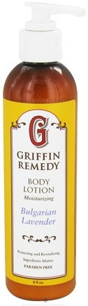 DROPPED: Griffin Remedy - Moisturizing Body Lotion Bulgarian Lavender - 8 oz.