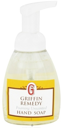 DROPPED: Griffin Remedy - Foaming Hand Soap Unscented - 8 oz.