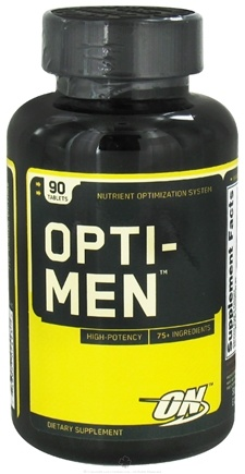 DROPPED: Optimum Nutrition - Opti-Men Multiple Vitamin - 90 Tablets